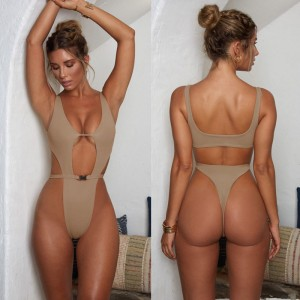 Women Sexy One Piece Swimsuit Ladies hollow out brazilian bikini Fashion Female Swimwear Monokini Bathing Push Up beachwear