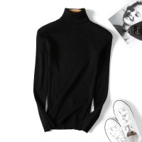 2020 spring Knitted Turtleneck Sweater Casual Soft polo-neck Jumper Fashion Slim Femme Elasticity Pullovers