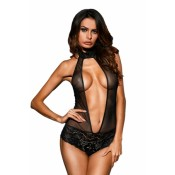 Black Hot Spicy Mesh Teddy