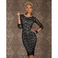 Women's Elegant Lace Sexy Dress