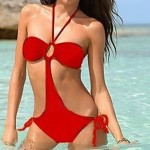 Women's Sexy Lingerie Bikini Hot Swimsuits Ladies Swimwear Beachwear One-Pieces