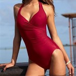 Beach Sexy Triangle One-piece Swimwear Set