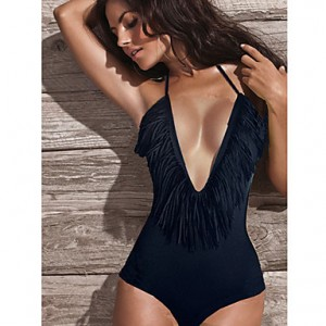 Black Sexy One-piece Acacia Swimwear