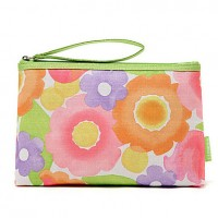 Sweet Floral Pattern Colorful Clutch
