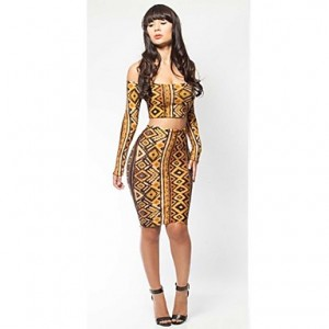 Women's Export Fashion Sexy Bodycon Bandage Dress