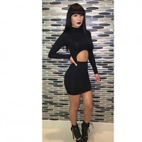 Women's Fashion Hot Sale Sexy Bandage Dress