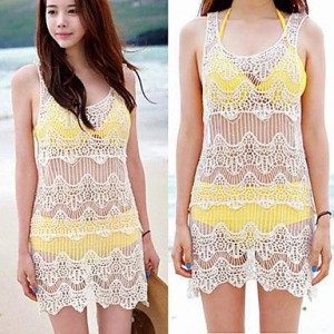 Women Sexy Bikini Swimwear Cover Beach Dress