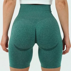 Vital Seamless Sports Short Women Summer High Waist Tight Gym Leggings Squat Proof Tummy Control Workout Running Shorts Women