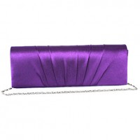 Elegant Folds Evening Bag