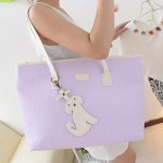 Fashion Emboss Cute Dog Tote