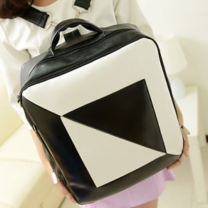 Fashion Stitching Backpack