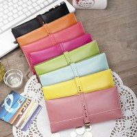 Lady's Buckle Long Wallet