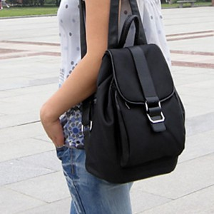 Lady's Fashion Casual Simple Backpack