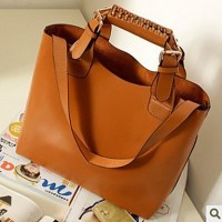 PU Detachable Handle Crossbody Bag