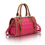 Women's Fashion Diamond Check Tote