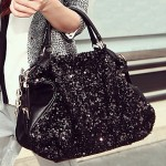 Women's Sequin Chain Crossbody Bag