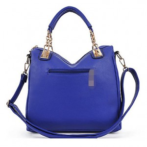 Women's Splicing Rivet Satchel