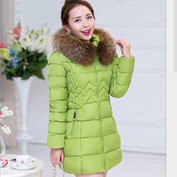 Fashion Winter jacket Women Long Style Parkas Coat Slim Casual Winter Coat Women Warm Parka Plus Size