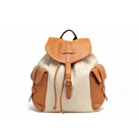 Casual Stylish Women's Satchel With Color Matching and Pockets Belts Design