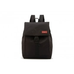 Casual Women's Satchel With Patchwork and Nylon Design black