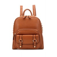 Fashion Women's Satchel With Buckle and Rivets Design