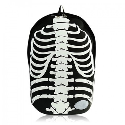 Fashion Women's Satchel With Color Matching and Skeleton Design