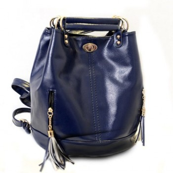 Fashion Women's Satchel With Tassels and PU Leather Design