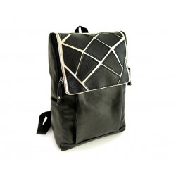 Preppy Style Women's Satchel With PU Leather and Color Block Design