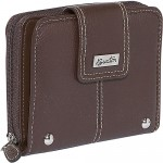 Buxton Westcott Tab Zip Around Attache