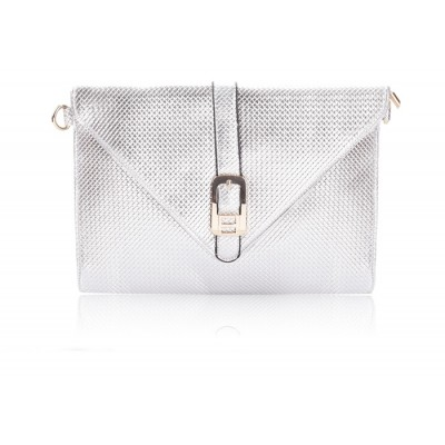 Career Women's Clutch With Pure Color and Checked Design
