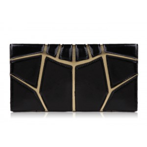 Casual Women's Clutch With Elegant Candy Color Block and Cover Design
