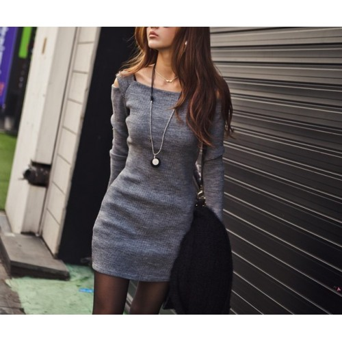 Stylish Square Neck Color Matching Sleeveless Peplum Dress For ...