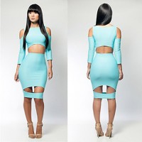 Women's Slim Bodycon Party Dress