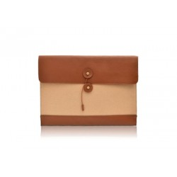 Career Women's Clutch With Color Matching and Canvas Design