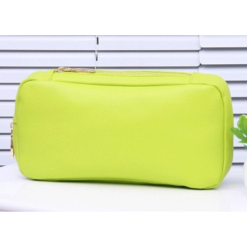 Fashion Women's Clutch Bag With Solid Color and Zipper Design