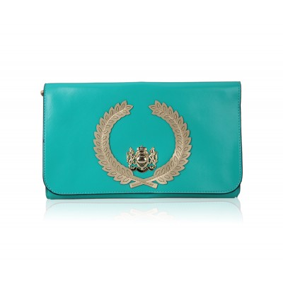 Fashion Women's Clutch With Candy Color and Twist-Lock Design
