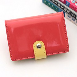 Fashion Patent Leather Card