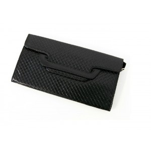 Fashion Style Women's Clutch With Black and Checked Design