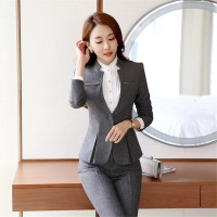 Workwear office uniform designs women office suits blazers suit