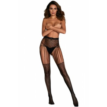 Leopard Fishnet Hollow-out Pantyhose