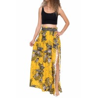 Summer Blossom Maxi Skirt