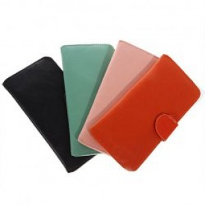 Excellent Long Leatherette Clutch Bag Wallet Billfold Purse Burse for Female