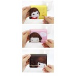 Lovely Girl Printing PVC Bag For Cards(32 Stories)