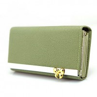 Lady's Bow Long Wallet