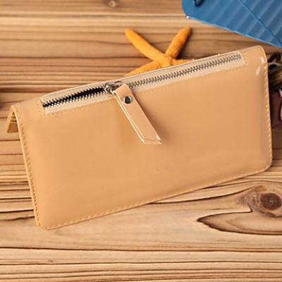 Lady's Candy Color Long Card Bag