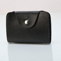 Lady's Solid Color Card Bag