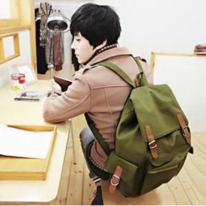 Leisure Canvas Multi Pocket Backpack