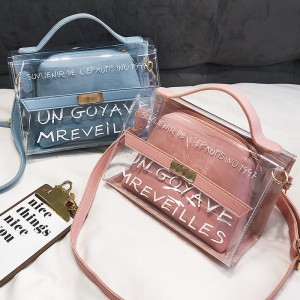 2020 Transparent Bag Brand Women PVC Clear Bag Women Handbags bolsa feminina Shoulder Bag Crossbody bag sac main femme