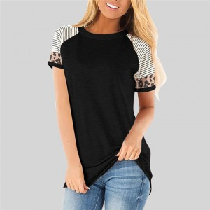 Women T-shirt Summer Raglan sleeve Top Slim Short Sleeve T Shirt Women Casual Tops Tee Female Vintage Tee Harajuku Streetwear