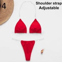 In-X Sexy micro bikinis 2020 mujer Brazilian swimsuit Push up swimwear women swim suit Solid bathing suit Summer two-piece suits